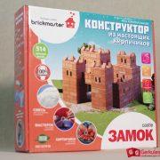 Конструктор из настоящих керамических кирпичей Замок 2,12 000 тг.