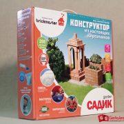 Конструктор из настоящих керамических кирпичей Садик 2,10 000 тг.