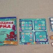 Магнитная игра с карточками Подводная ферма 4, 2500 тг.