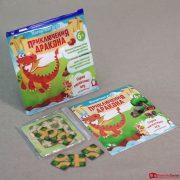 Магнитная игра с карточками Приключение дракона 3, 2500 тг.