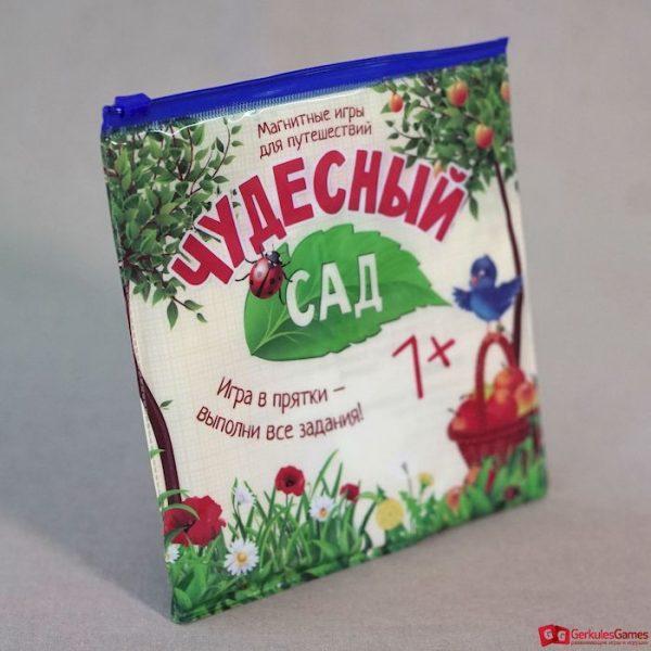Магнитная игра с карточками Чудесный сад 2, 2500 тг.