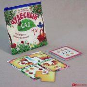 Магнитная игра с карточками Чудесный сад 3, 2500 тг.