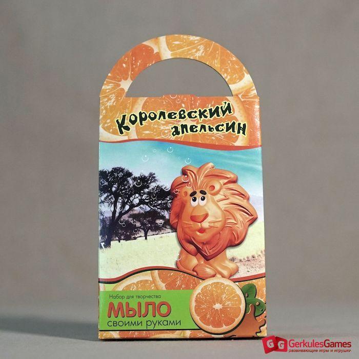 """Мыло своими руками """"Королевский апельсин"""" - Интернет магазин ggames.kz"""