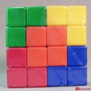 Набор цветных кубиков 16 цветов 1,2000 тг.