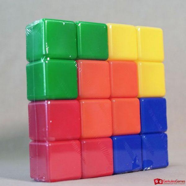 Набор цветных кубиков 16 цветов 2,2000 тг.