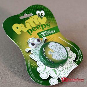 Волшебный пластилин Putty Peeps меняющий цвет зелено-желтый  1, 2 100 тг.