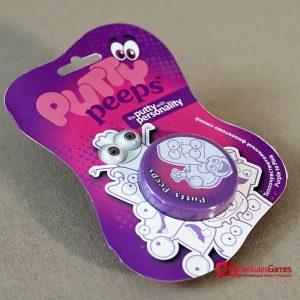 Волшебный пластилин Putty Peeps меняющий цвет фиолетово-розовый  1, 2 100 тг.