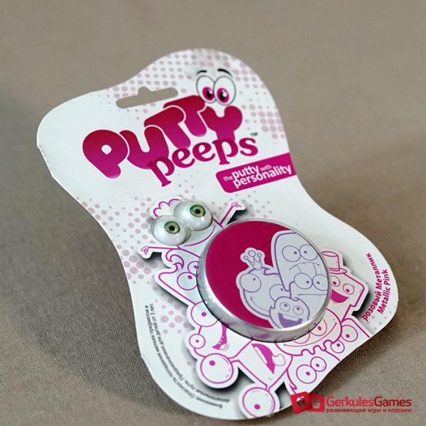 Волшебный пластилин Putty Peeps металлик розовый 1, 2 000 тг.