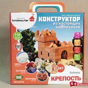 Конструктор из настоящих керамических кирпичей Крепость 1,6000 тг.