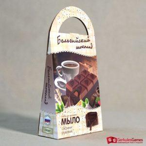 Набор Мыло своими руками Бельгийский шоколад 4,1500 тг.