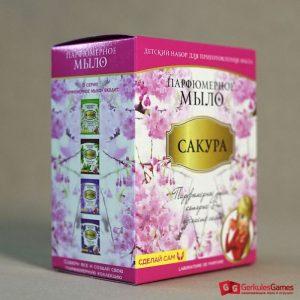Набор для приготовления парфюмированного мыла Сакура 4, 2 500 тг.
